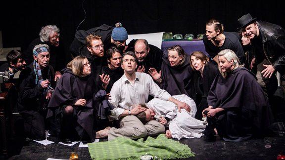 Oliver Senton, Katy-Anne Bellis, and the Illuminati Choir , taken by AB Photography